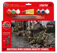 German Infantry (World War II) Multipose Starter Set