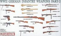 WWII German Infantry Weapons Set Part 2 - Image 1