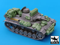 Pz.Kpfw.III Ausf.N accessories set for Dragon
