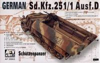 Sd.Kfz. 2511 Ausf.D Shutzenpanzer Model Tanks AFV Club