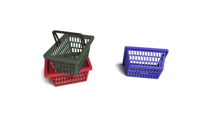 Shopping Baskets - Image 1