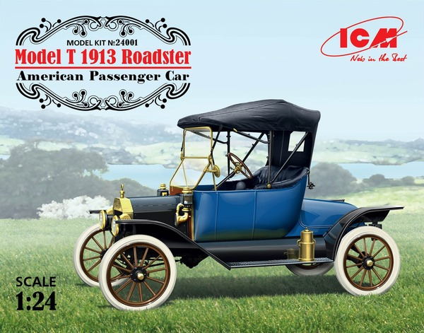 Model T 1913 Roadster, American Passenger Car - Image 1