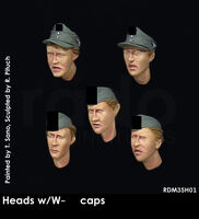Heads w/W-SS caps (5 pcs)