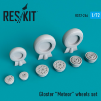 Gloster Meteor wheels set