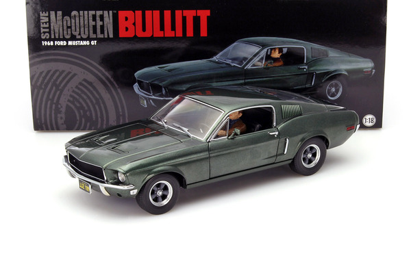 1967 ford mustang gt fastback bullit figurka steve 39 a mcqueena die cast gotowy model. Black Bedroom Furniture Sets. Home Design Ideas