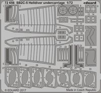 SB2C-5 Helldiver undercarriage   SPECIAL HOBBY