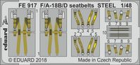 F/A-18B/D seatbelts STEEL   KINETIC - Image 1