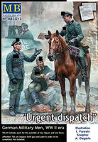 """Urgent dispatch"" German Military Men WWII - Image 1"
