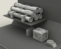 TOW Missile Rack set - Image 1