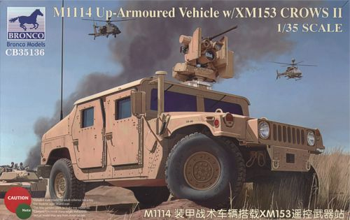 American M1114 Up-Armoured Vehicle with XM153 CROWS II - Image 1