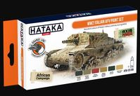 HTK-CS106 WW2 Italian AFV paint set