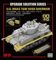 Upgrade Solution for U.S. M4A3 76W HVSS Sherman for RM-5028/RM-5042 - Image 1