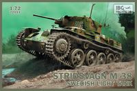 Stridsvagn M/38 Swedish Light Tank