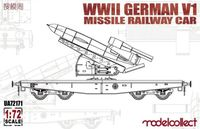 WWII German V1 Missile Railway Car - Image 1