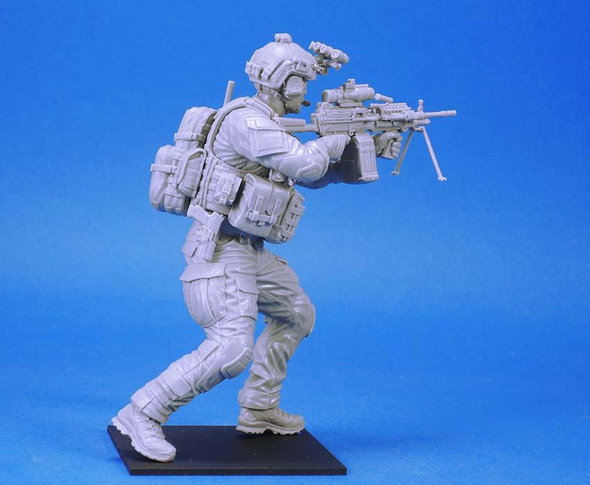Legend Productions 1//35 US Navy Seal #2 Mk.48 Machine Gun Gunner