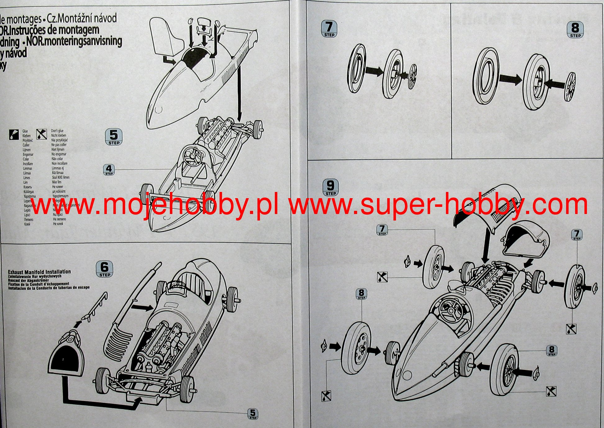 "Alfa Romeo ""Alfetta"" model do sklejania MisterCraft D222"