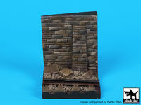 Wall with rail base (55x55 mm)