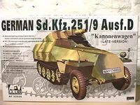 German Sd.Kfz.251/9 Ausf.D Kanonenwagen (late version)