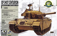 IDF Shot Centurion Mk 5, Mk 5/1 1967 Early Type Tank - Image 1