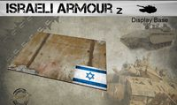 Small Israeli Armour Display Base 2 148 x 105mm - Image 1