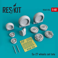 Su-27 wheels set Late version set - Image 1