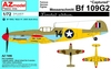 Bf 109G-2 Captured USAF RAF Red Army
