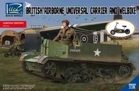 British Airborne Universal Carrier and welbike