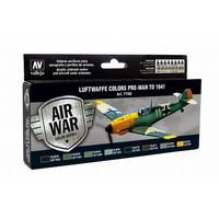 71165 Air War Color Series - Luftwaffe Colors Pre War to 1941 Set