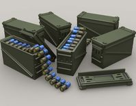 PA120 40mm 32 Cart Ammo Can set
