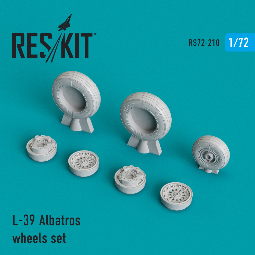 L-39 Albatros wheels set - Image 1