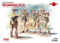 US Infantry (1917) (4 figures) - Image 1