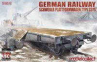 German Railway Schwerer Plattformwagen Type SSys 1+1 (2 kits on the box) - Image 1