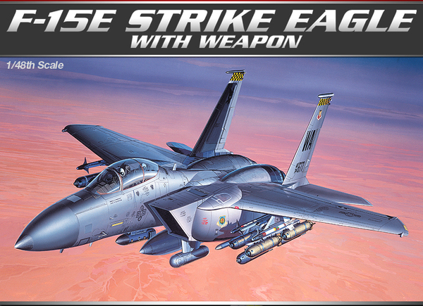 F-15E STRIKE EAGLE W/ WEAPONS - Image 1