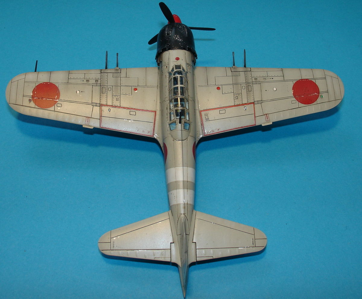 A6M5 Zero Fighter 1/72 Hobby Boss 80241 - 005 - Image 1