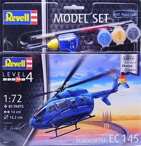 "Eurocopter EC 145 ""Builders Choice"" Model Set - Image 1"