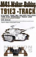 M41 WALKER BULLDOG T91E3 WORKABLE TRACK