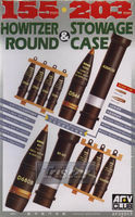 155/203mm HOWITZER ROUND and STOWAGE CASE