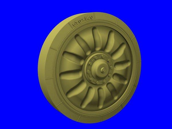 "Road Wheels for MT-LB & ""Gvozdika"" PanzerArt RE35-198"