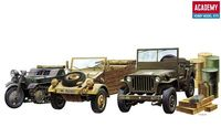 LIGHT VEHICLES OF ALLIED & AXIS DRING WWII - Image 1