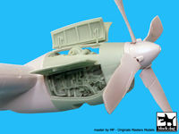 AC-130H Hercules Engine for Italeri