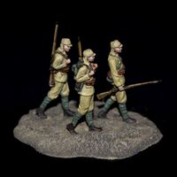 Japanese infantry soldiers