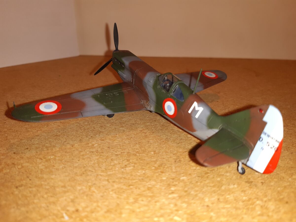 Dewoitine D.520 1/72 Hobby 2000 - 004 - Image 1
