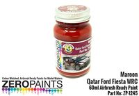 1245 Marron Paint for Qatar Ford Fiesta WRC - Image 1