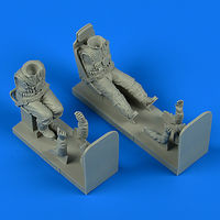 German Luftwaffe Pilot and Gunner WWII with seats for Ju 87 Stuka HAS/TRU
