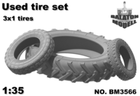 Used tires set (3x1pcs.) - Image 1