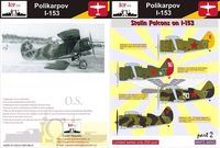 Polikarpov I-153 - Stalins Falcons on I-153
