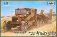 Scammell Pioneer Tank Transporter with TRMU30 Trailer