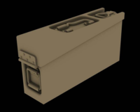 Metal ammo boxes for MG34/42 - Image 1