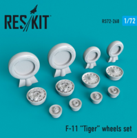 F-11 Tiger wheels set