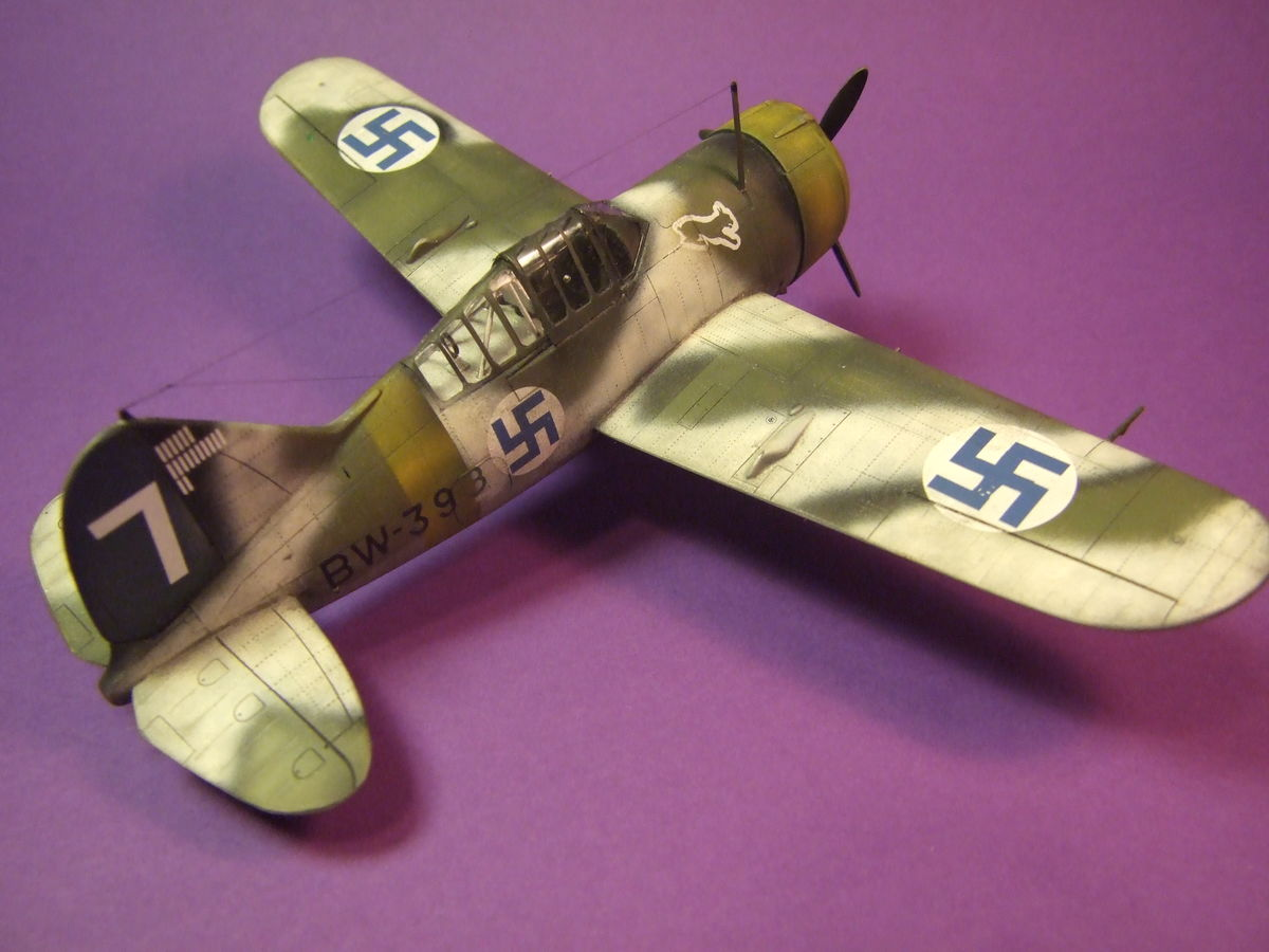 Brewster Buffalo Special Hobby 1/48 - 003 - Image 1